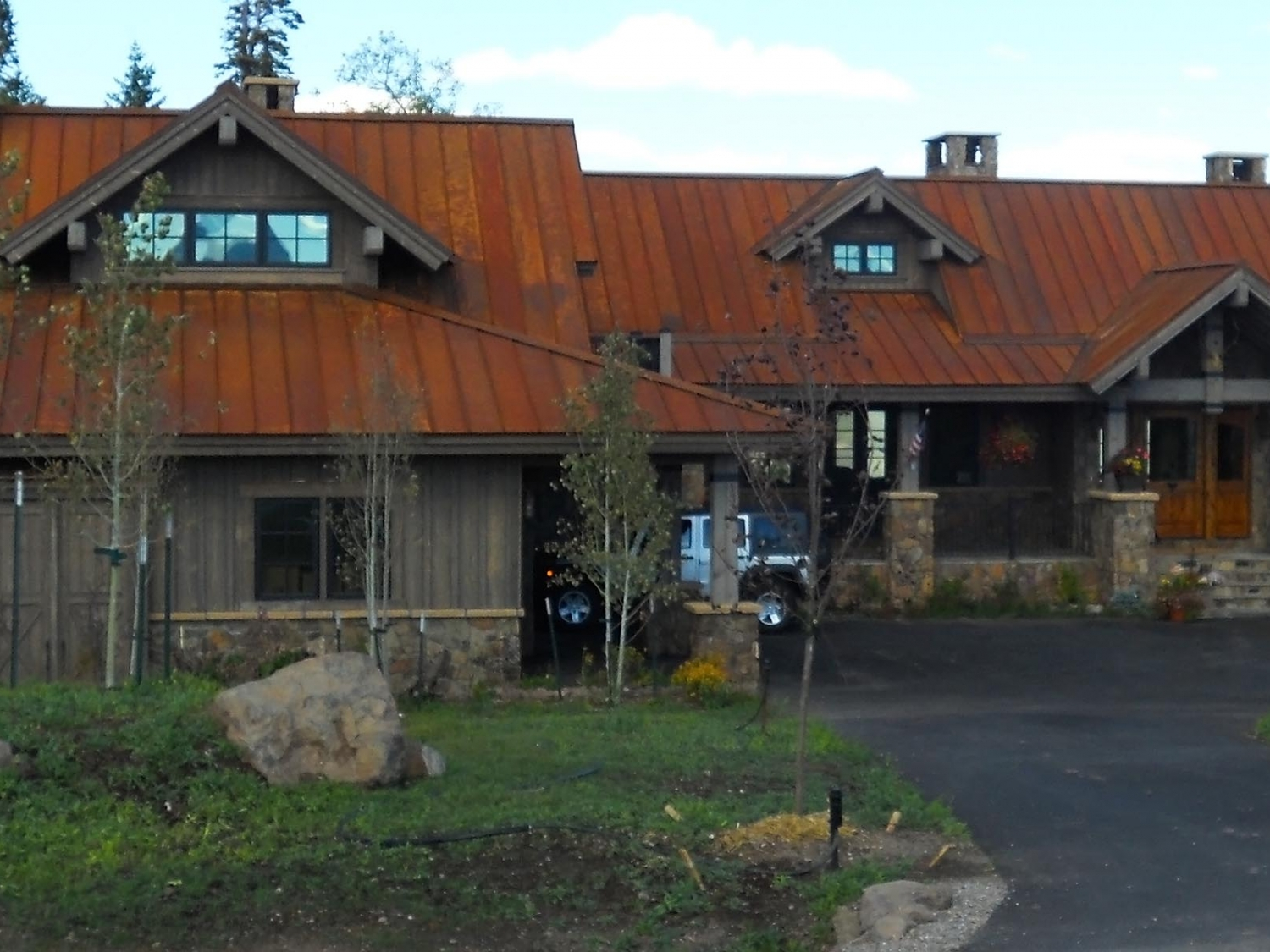 copper standing seam denver