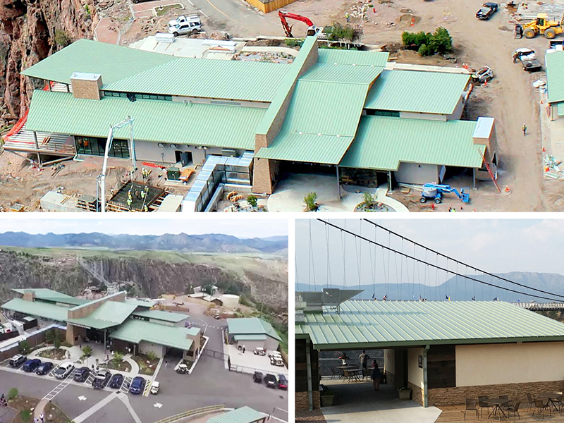 royal gorge colorado standing seam metal roof