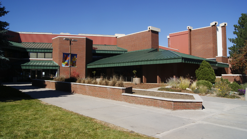 standing seam metal roof on northglenn rec center